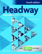 New Headway Intermediate Fourth Edition Workbook and iChecker with Key