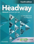 New Headway Advanced Fourth Edition Workbook + iChecker with Key
