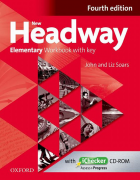 New Headway Elementary Fourth Edition Workbook and iChecker with Key